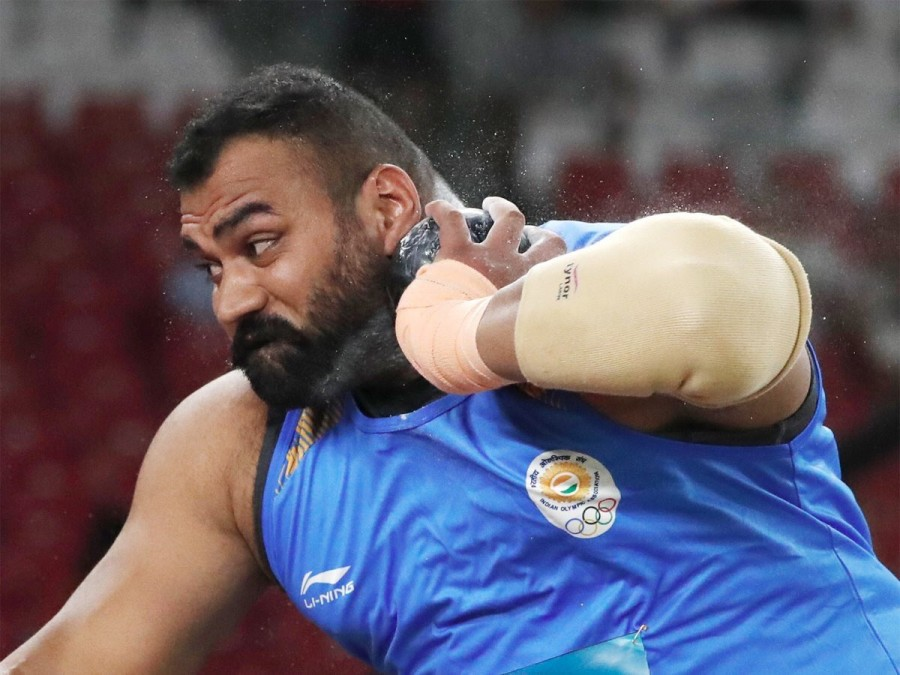 Tajinderpal Singh Toor,Tajinderpal Singh Toor wins gold,Tajinderpal Singh Toor new record,Tajinderpal Singh Toor Asiad Games 2018,Asiad Games 2018,Asiad Games