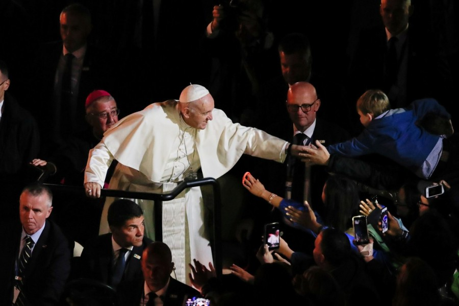 Pope Francis,Pope Francis visits Ireland,Pope Francis in Ireland,papal visit