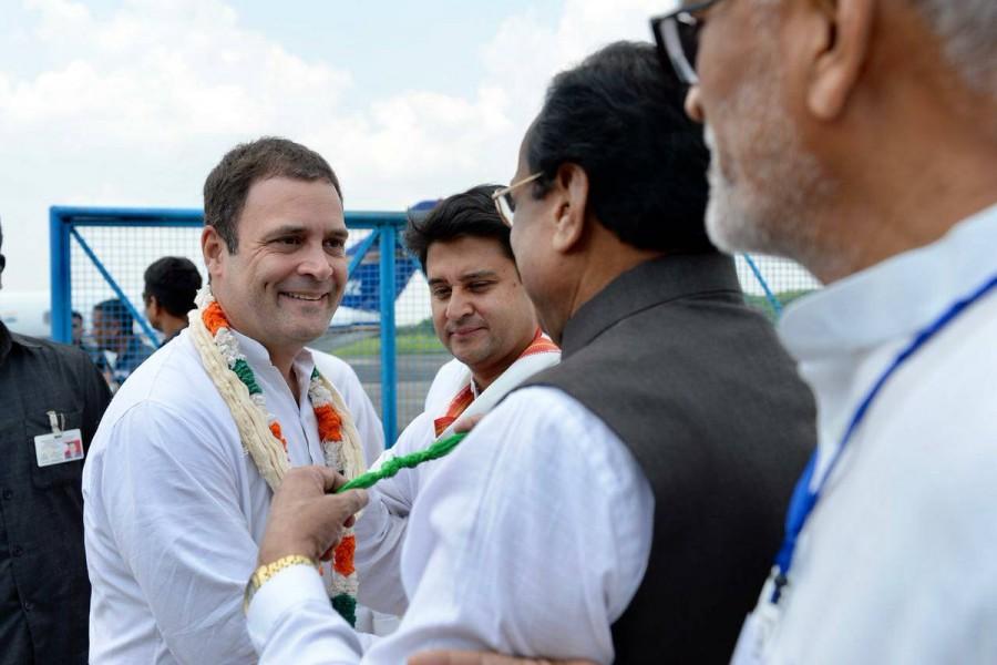 Congress Sankalp Yatra,Rahul Gandhi,Rahul Gandhi in Bhopal,Rahul Gandhi at Congress Sankalp Yatra,Congress President Rahul Gandhi,President Rahul Gandhi