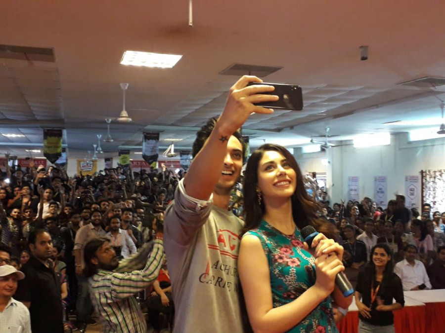 Loveyatri,Loveyatri release,Loveyatri movie release,Aayush Sharma and Warina Hussain,Aayush Sharma,Warina Hussain,Loveyatri promotions,Loveyatri movie promotions