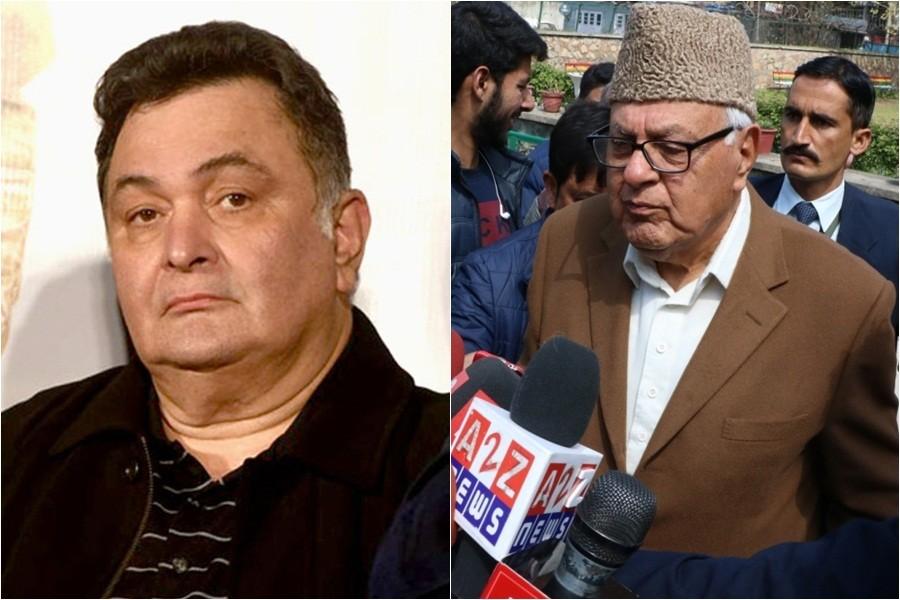 Rishi Kapoor and Farooq Abdullah