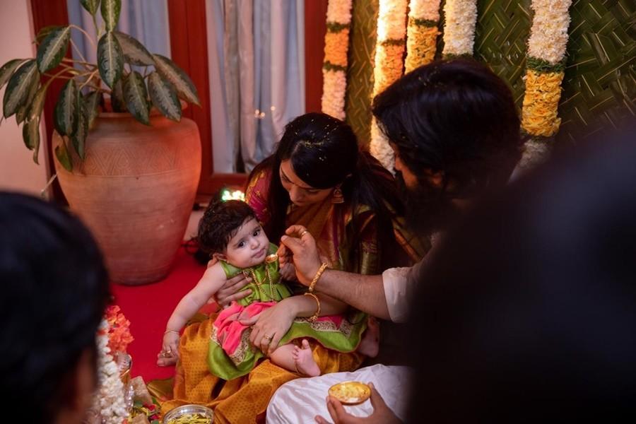 Ayra is the name of Yash-Radhika Pandit's daughter [Photos