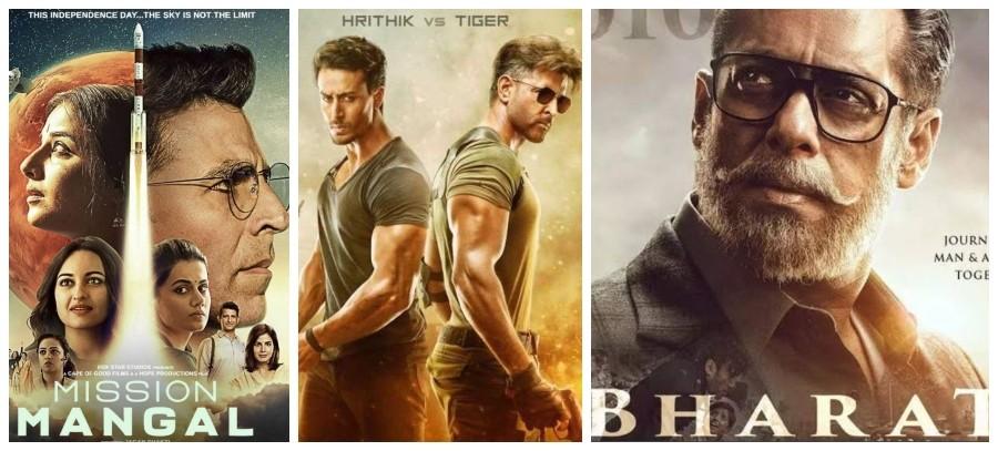 Top Box Office hits 2019