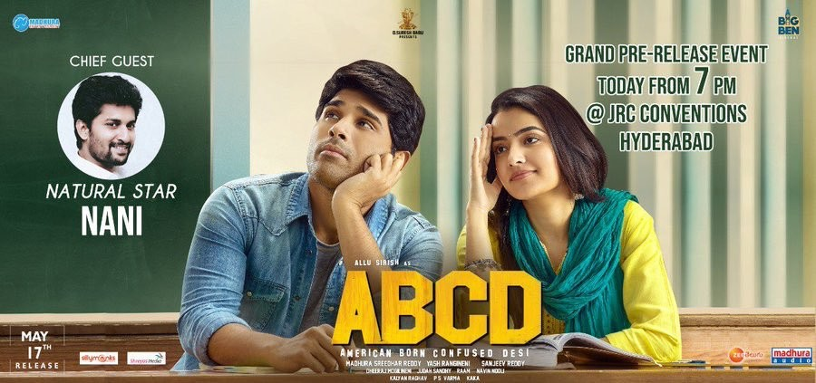 ABCD movie pre-release event poster