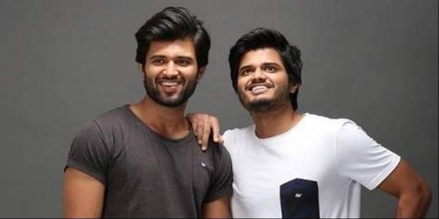Vijay Devarakonda with his brother Anand Devarakonda