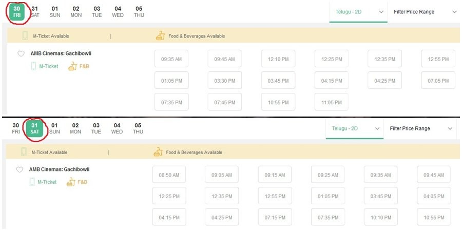 Saaho advance ticket booking