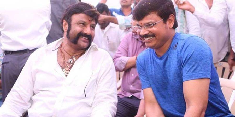 Nandamuri Balakrishna and director Boyapati Srinu