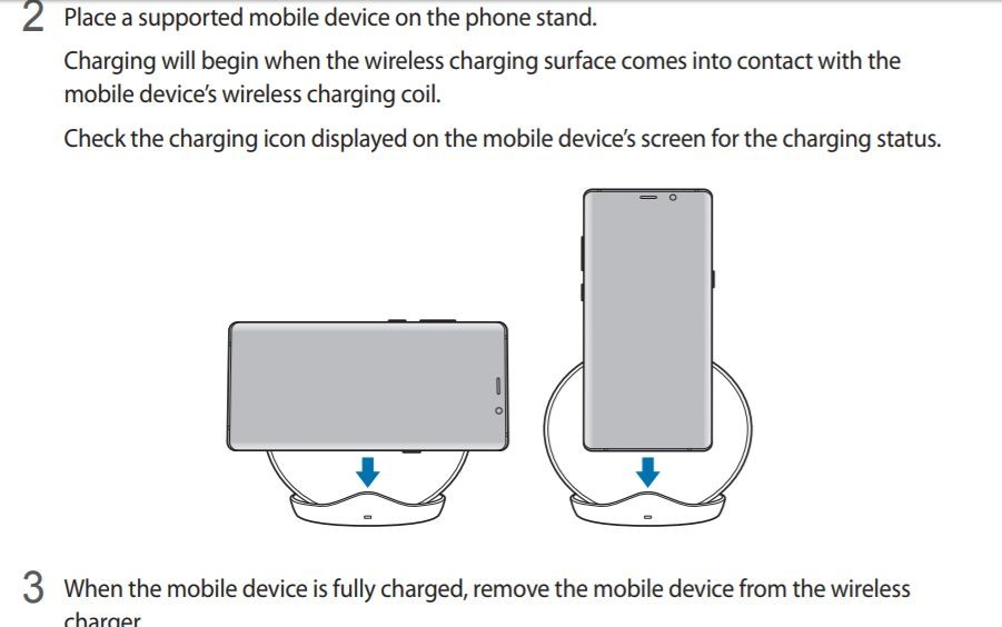 Samsung, Galaxy S9, wireless charger, features