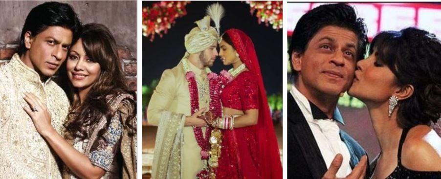 Priyanka Chopra and Shah Rukh
