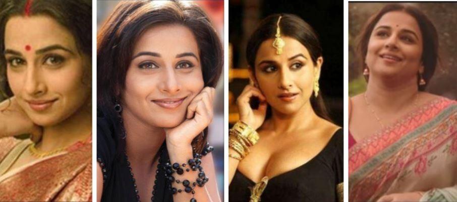 Vidya Balan then and now