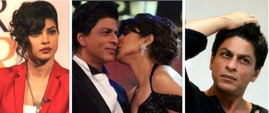 Priyanka Chopra and Shah Rukh