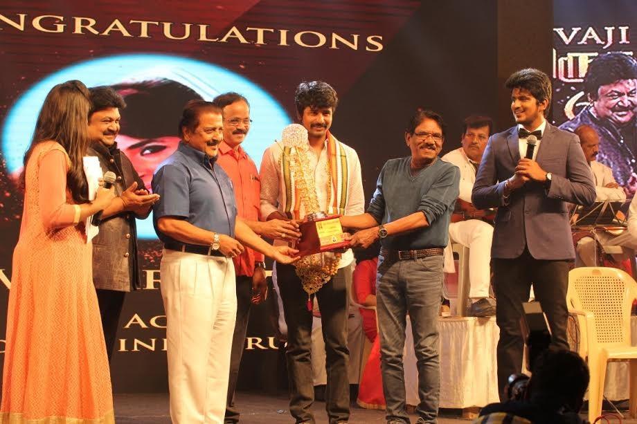 Sivakarthikeyan,Prabhu,Sivakumar,Bharathiraja,MGR-Sivaji Academy Film Awards,Sivakarthikeyan at MGR-Sivaji Academy Film Awards,MGR-Sivaji Academy Film Awards pics,MGR-Sivaji Academy Film Awards images,MGR-Sivaji Academy Film Awards stills,MGR-Sivaji Acade