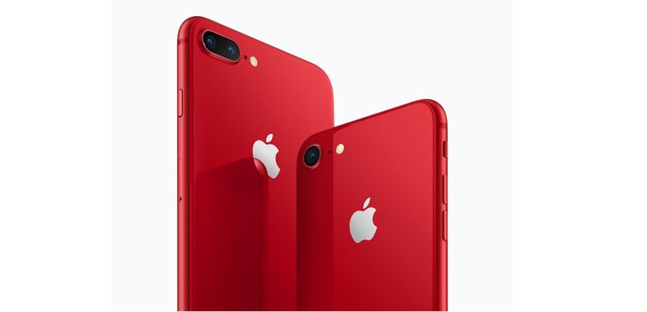 Apple, PRODUCT, RED, iPhone 8, iPhone 8 Plus