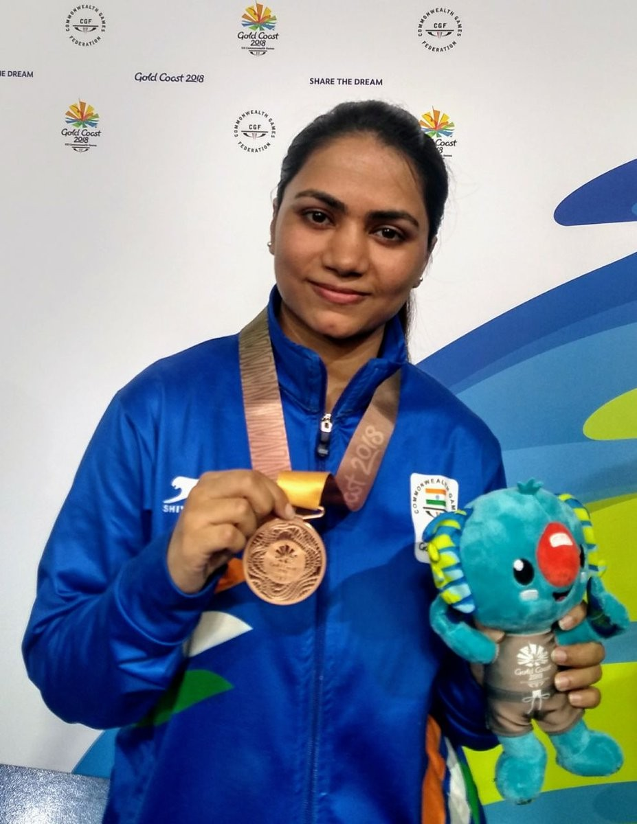 Commonwealth Games,Commonwealth Games 2018,Mehuli Ghosh,Apurvi Chandela