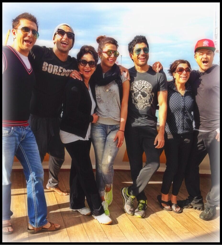 'Dil Dhadakne Do' team
