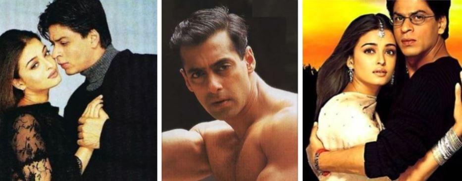 Aishwarya Rai, Shah Rukh Khan, Salman Khan