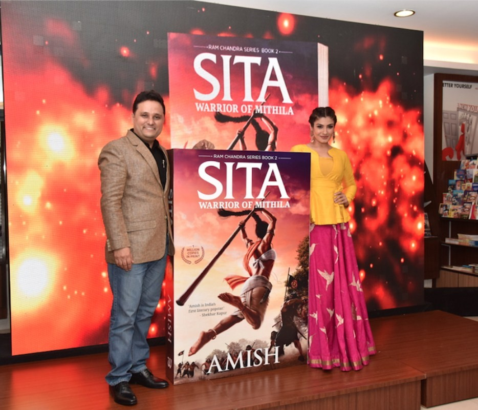 Amish and Raveena Tandon,Raveena Tandon,Sita- Warrior of Mithila,Ram Chandra series