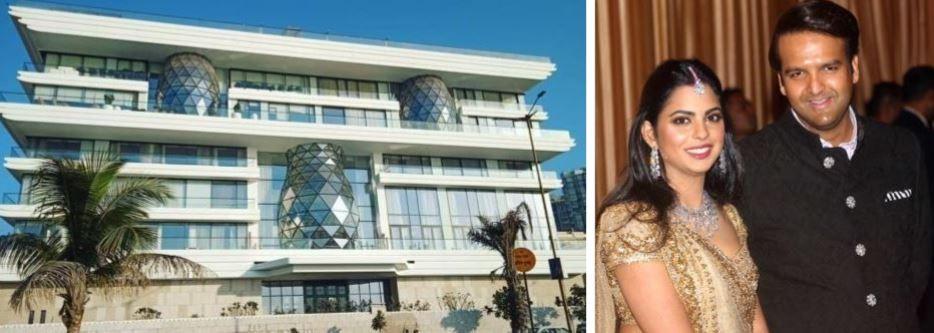 Isha Ambani Anand Piramals Home Gulita 10 Interesting