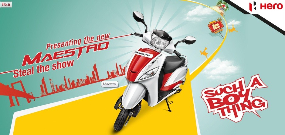 Hero Maestro Gets New Shades in India; Price, Feature Details