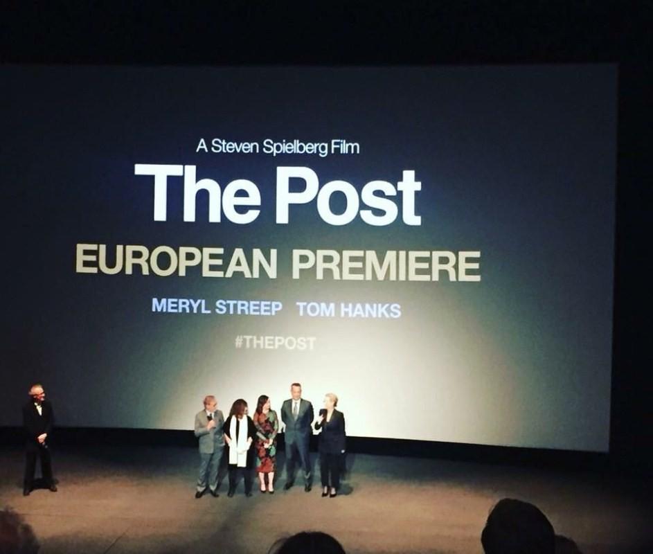 Meryl Streep and Tom Hanks,Meryl Streep,Tom Hanks,The Post,The Post London screening,The Post special screening,The Post movie