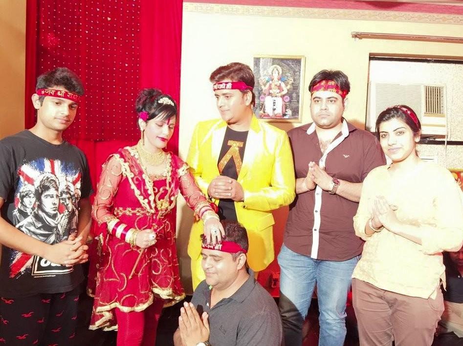 Leaked Photos Of Radhe Maa In Pink Short Dress - Photos -3723