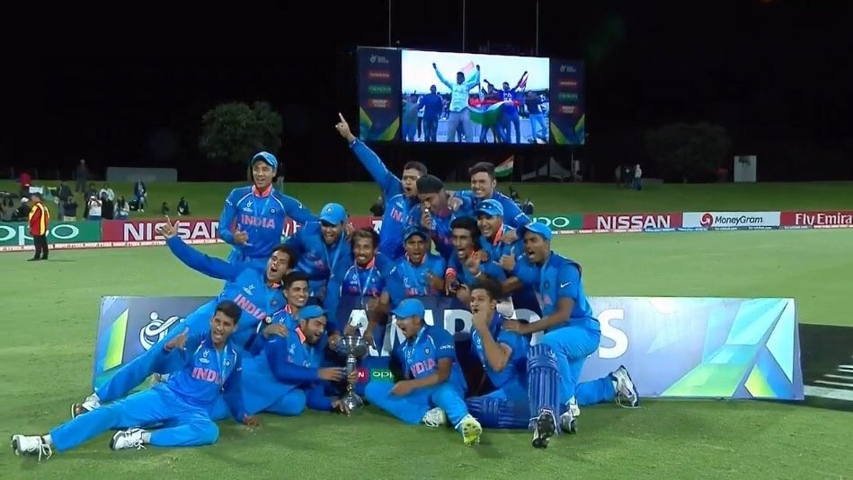 India beat Australia,India beat Australia by 8 wickets,India wins ICC U19 World Cup,ICC U19 World Cup,ICC U19 World Cup final