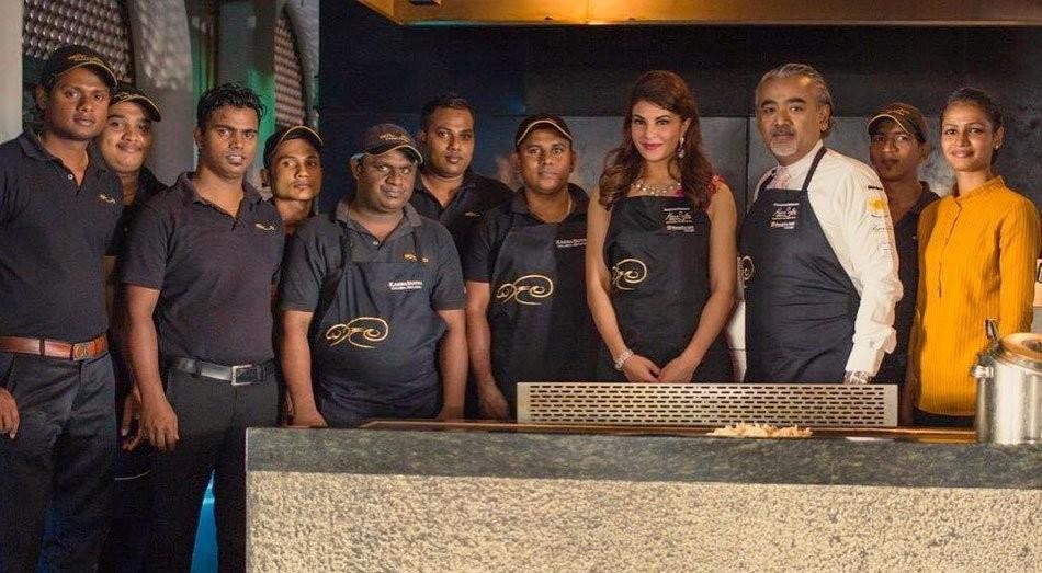 Jacqueline Fernandez,Jacqueline Fernandez hotel,Jacqueline Fernandez restaurant,Jacqueline Fernandez restaurant in Colombo,Kaema Sutra restaurant