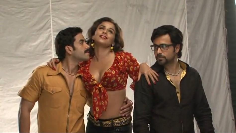 Vidya Balan, Emrran Hashmi and Tusshar Kapoor