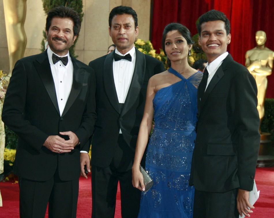 Anil Kapoor ,Irrfan Khan, Freida Pinto and Madhur Mittal