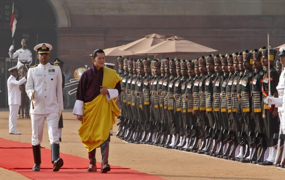 King Jigme Khesar Namgyel Wangchuck's India visit