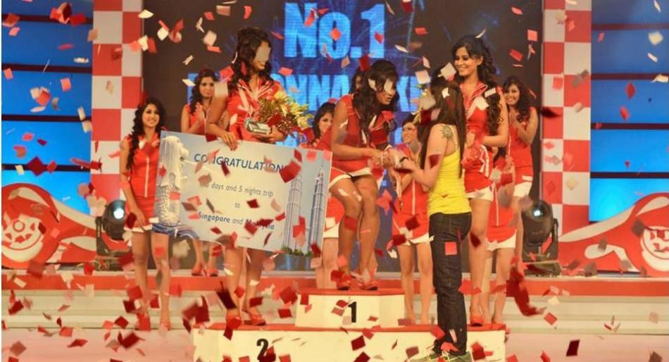 Grid Girls Winners