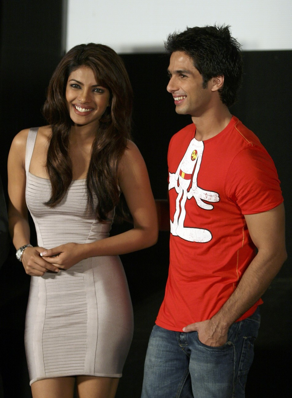 Priyanka Chopra and Shahid Kapoor
