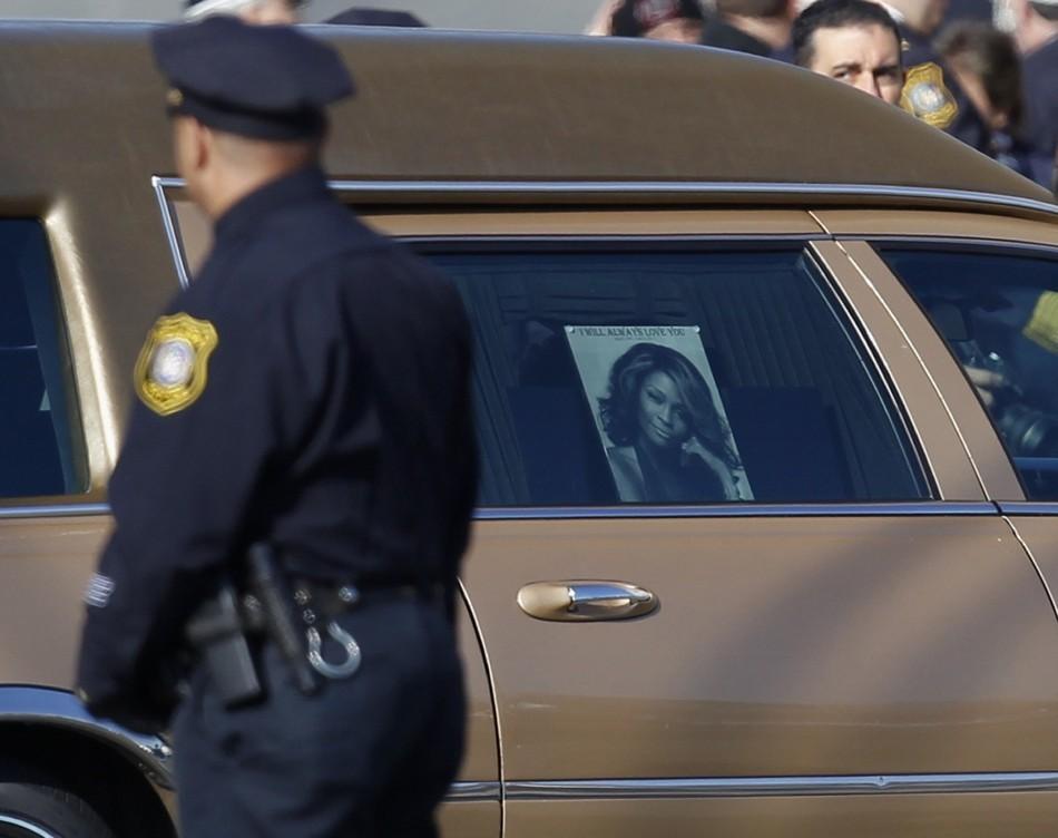 Newark Police, Whitney Houston