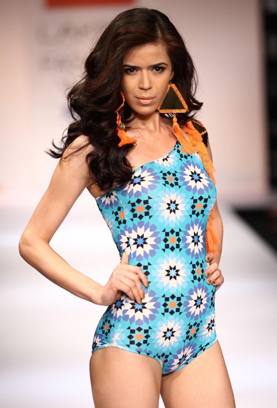 Hottest Models at Lakme Fashion Summer Resort/Week 2012