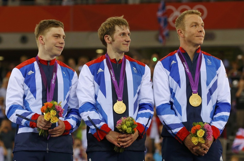 Philip Hindes, Chris Hoy, Jason Kenny