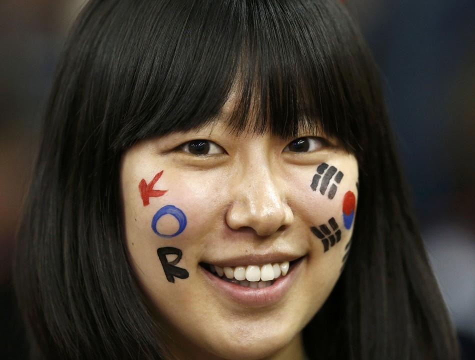 South Korean fan