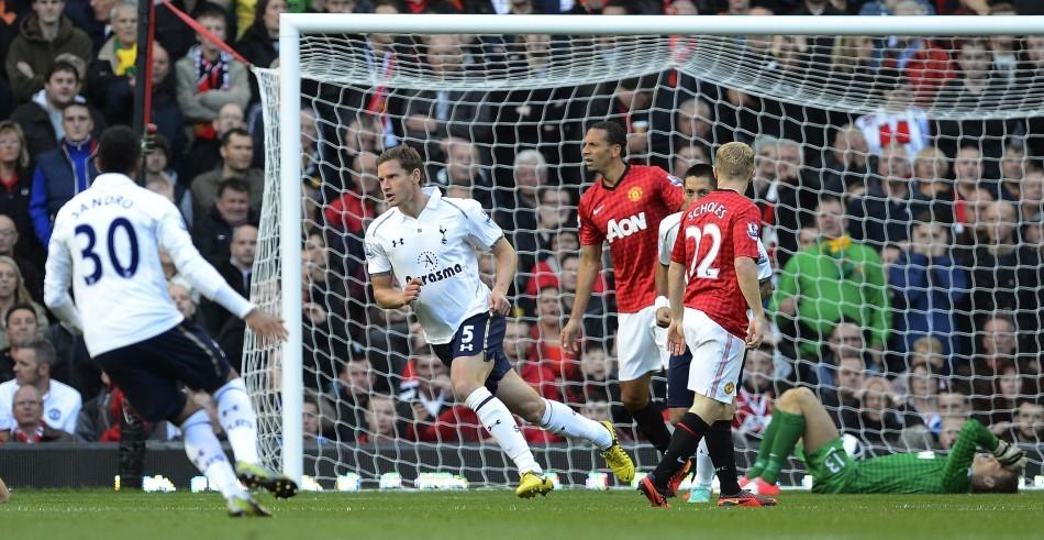 Tottenham Hotspur, Manchester United