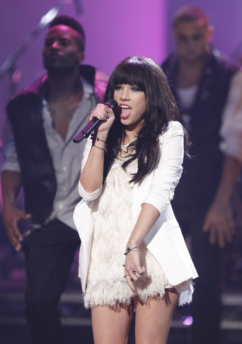 Carly B Rapper: Picture Highlights Of American Music Awards 2012; Justin