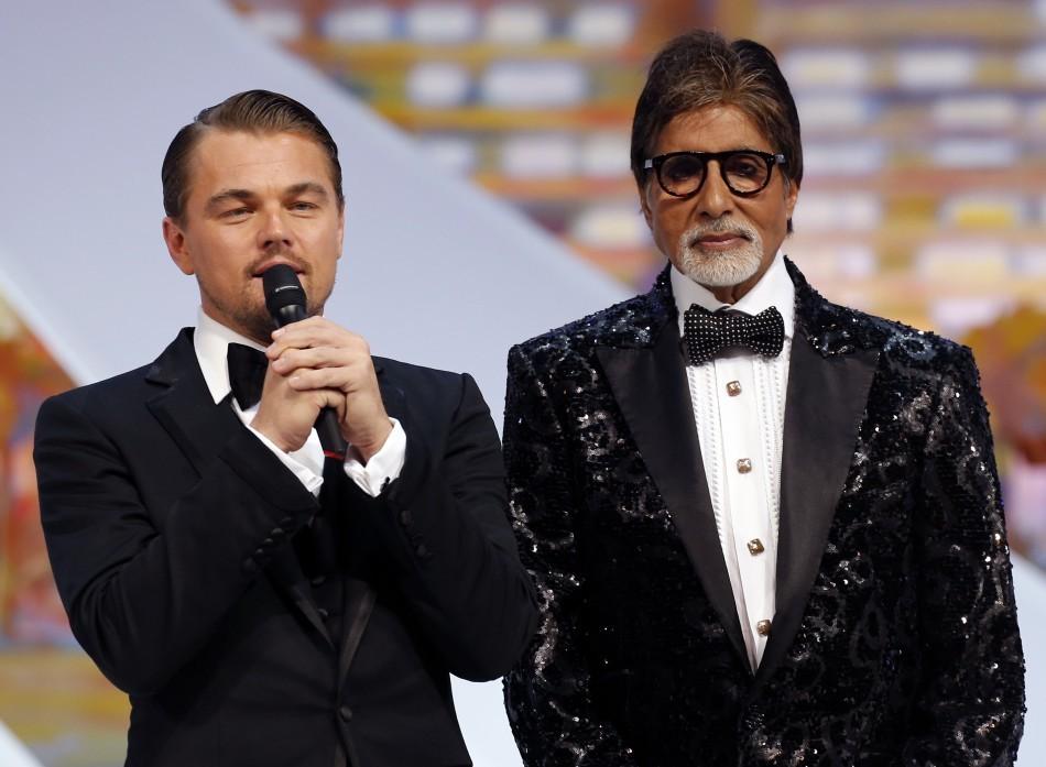 Amitabh Bachchan at Cannes Film Festival 2013 Red Carpet