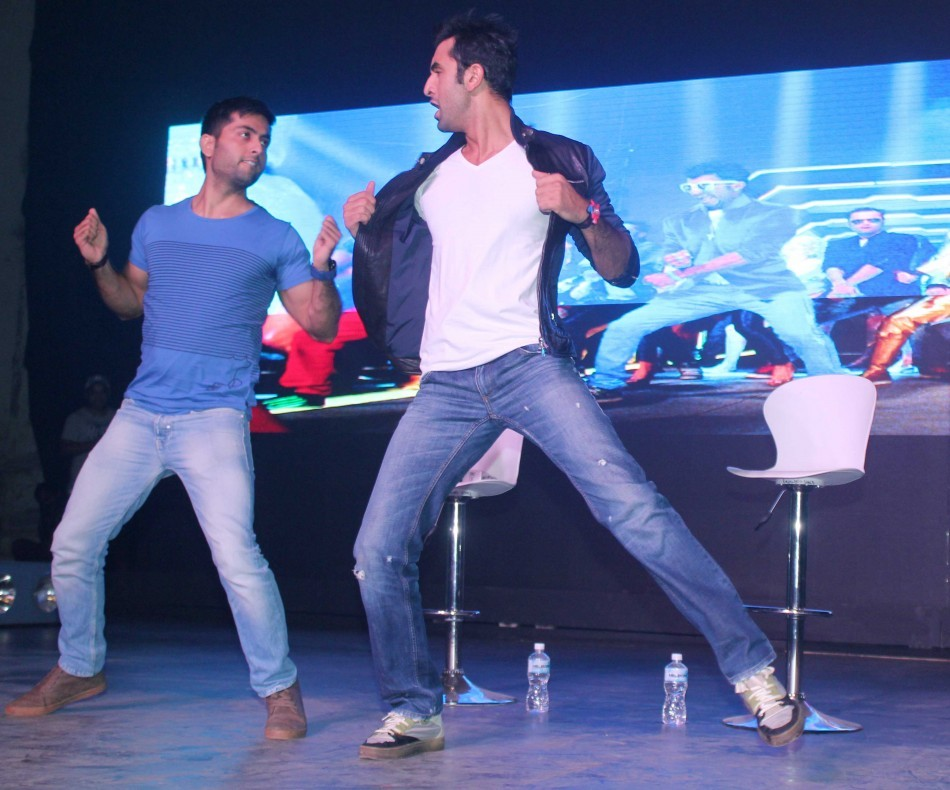Ranbir Kapoor at Bersharam Song Launch (Varinder Chawla)