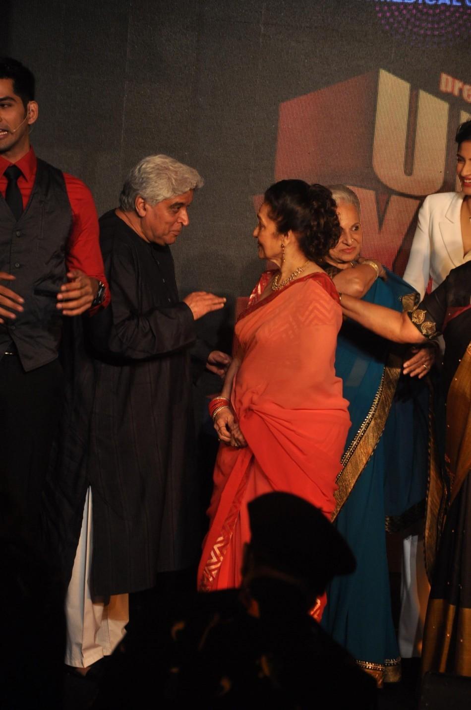 Javed Akhtar, Asha Parekh