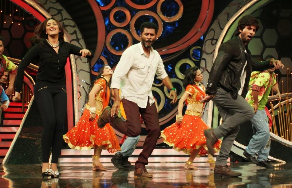 Sonakshi Sinha,Prabhu Deva,Shahid Kapoor