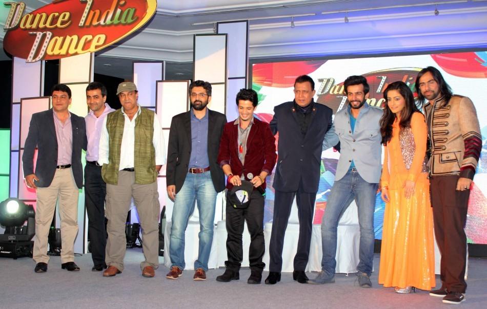 Mithun Chakraborty, Jay Bhanushali,Mudassar Khan,Shruti Merchant, Feroz Khan
