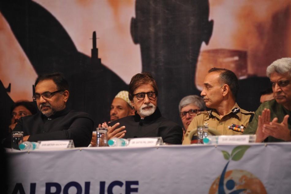 Amitabh Bachchan, Javed Akhtar,Satyapal Singh,