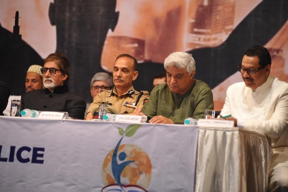 Amitabh Bachchan, Javed Akhtar,Satyapal Singh