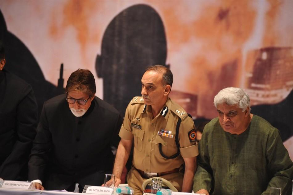 Amitabh Bachchan, Javed Akhtar, Satyapal Singh