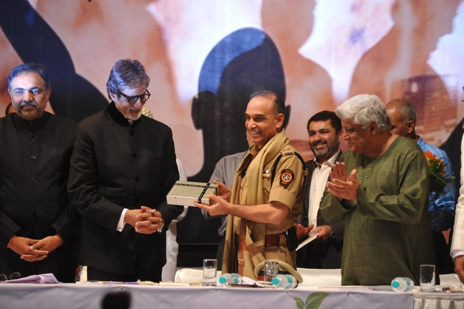 Amitabh Bachchan, Javed Akhtar, Jayant Patil ,Satyapal Singh