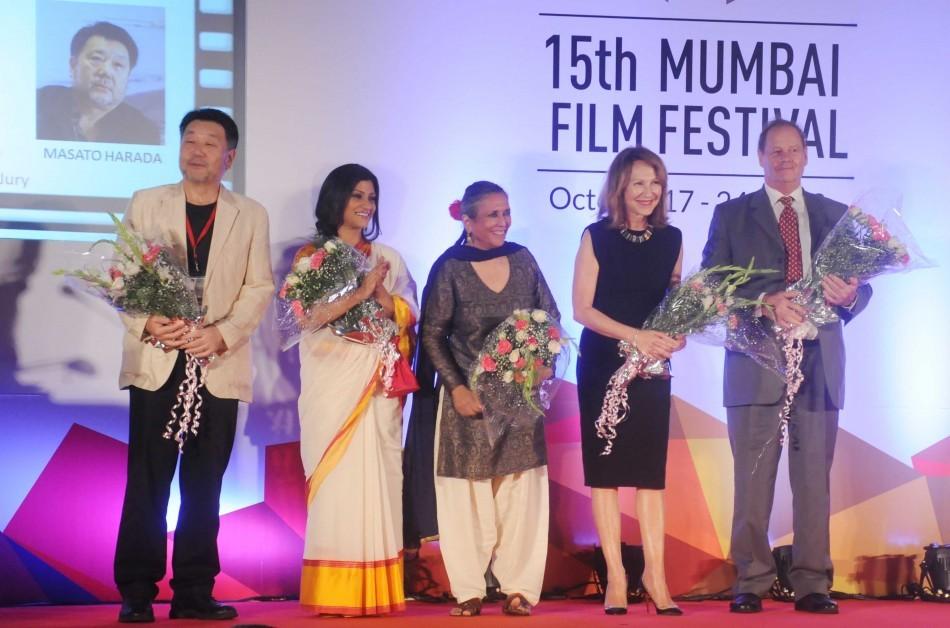 Konkona Sen Sharma with jury members