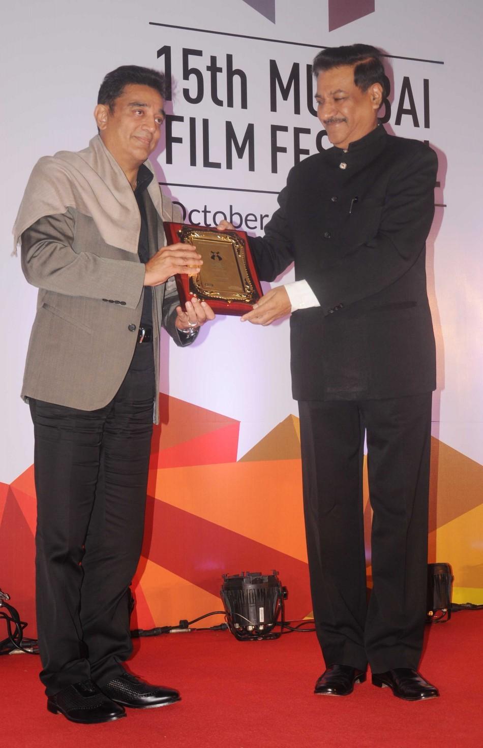 Kamal Haasan,Prithviraj Chavan