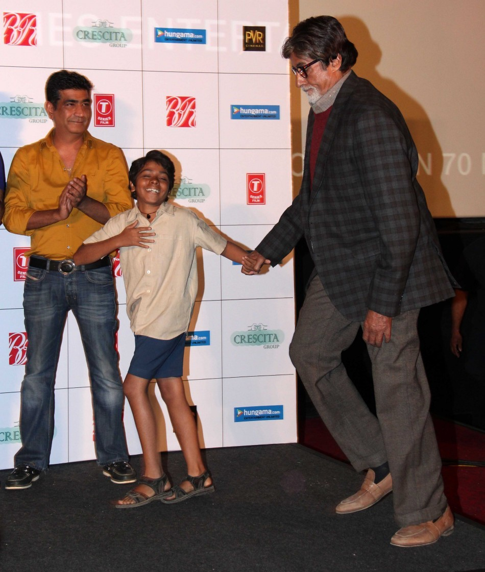 Amitabh Bachchan at the launch trailer of 'Bhoothnath Returns'